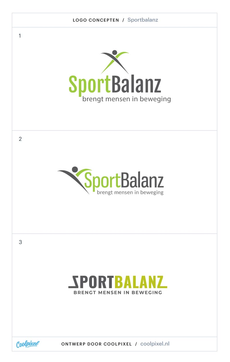 sportbalanz zwartsluis logo ontwerp fitness studio