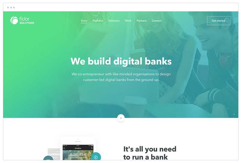 website ontwerp fidor solutions