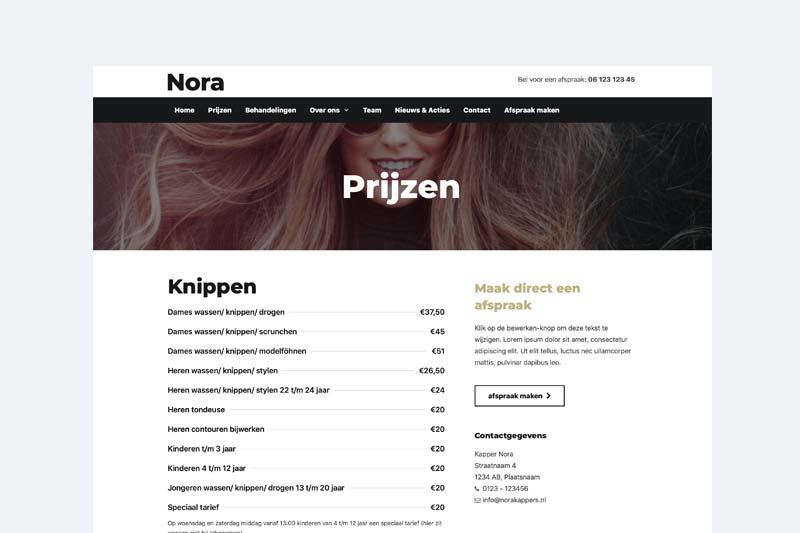 website-laten-maken-voor-kapsalon
