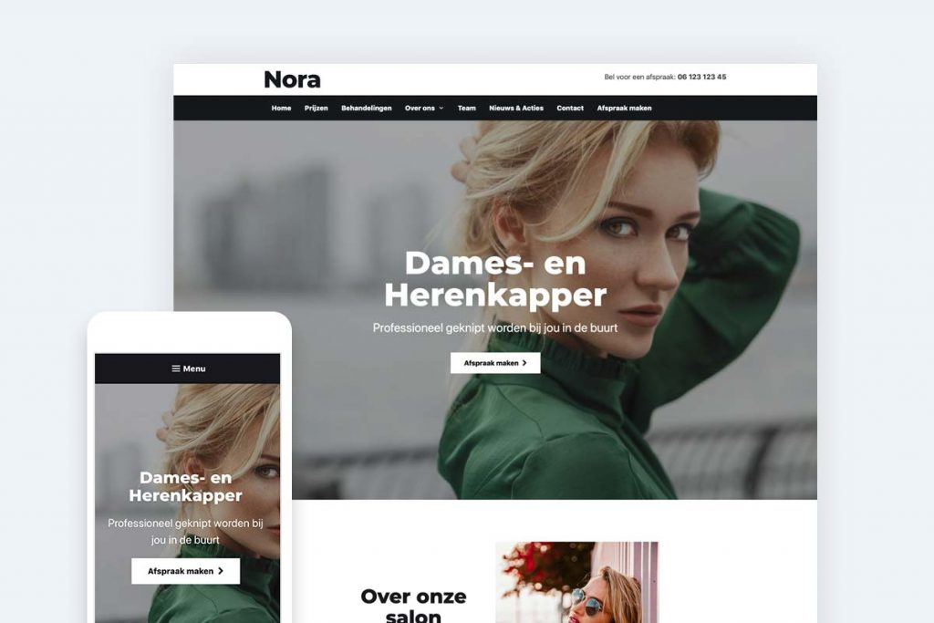 kapper-website-maken