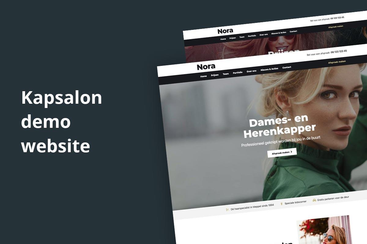 kapsalon-demo-website