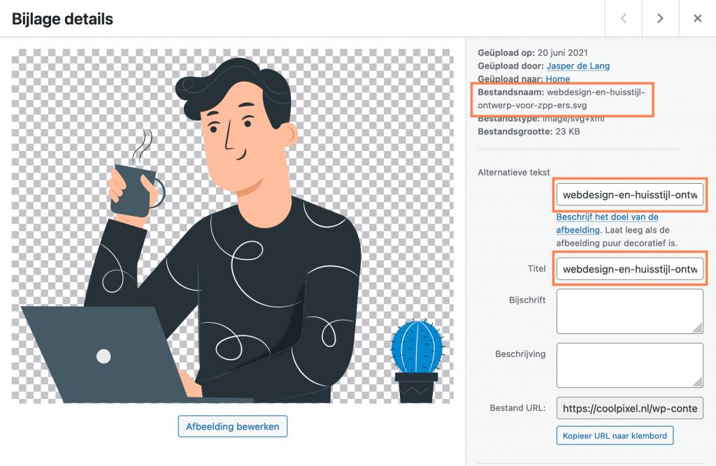 Foto's optimaliseren voor je WordPress website